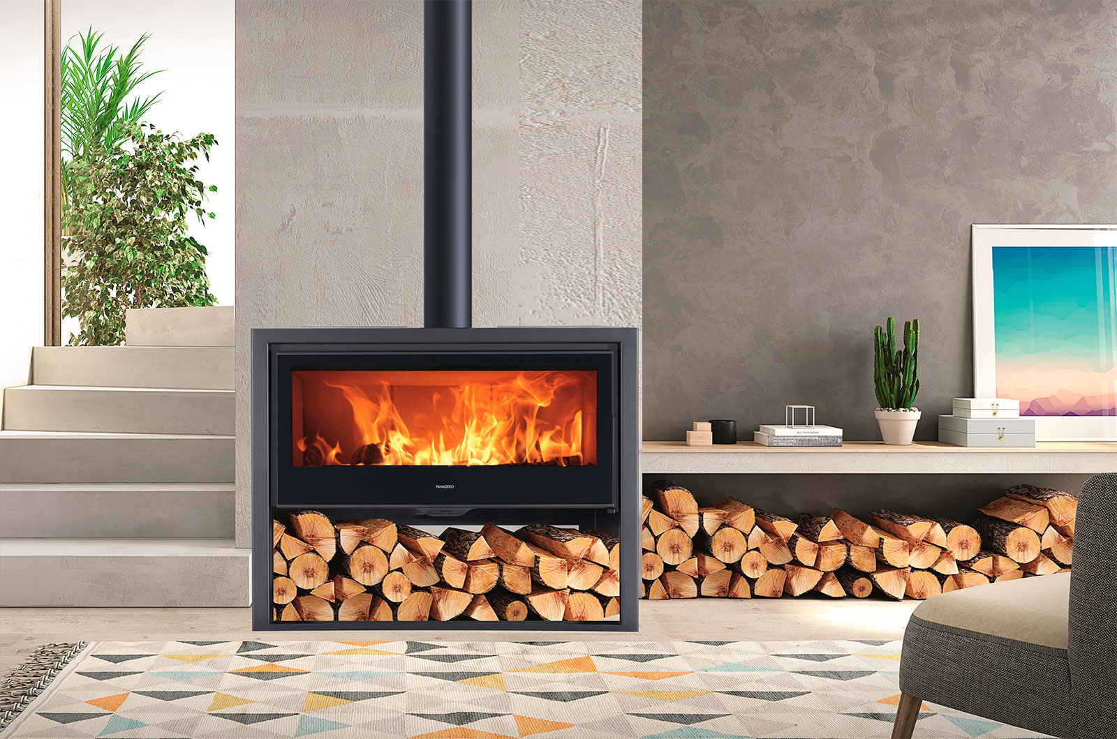 How a woodstove works