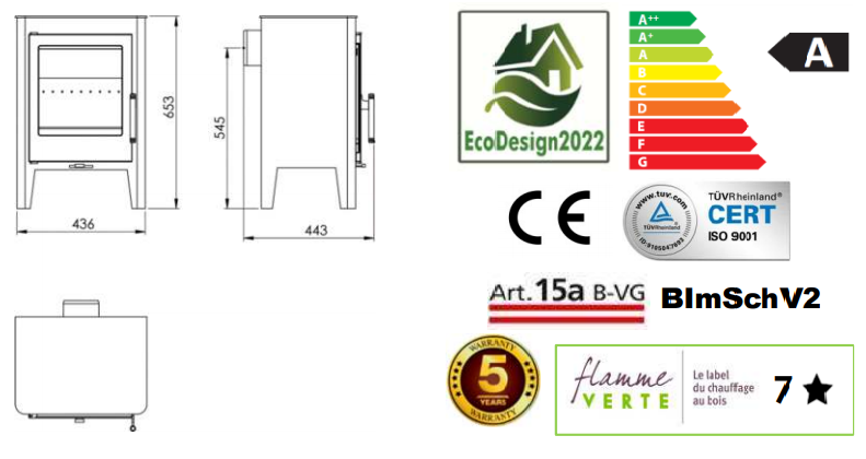 Panadero SKARA Ecodesign