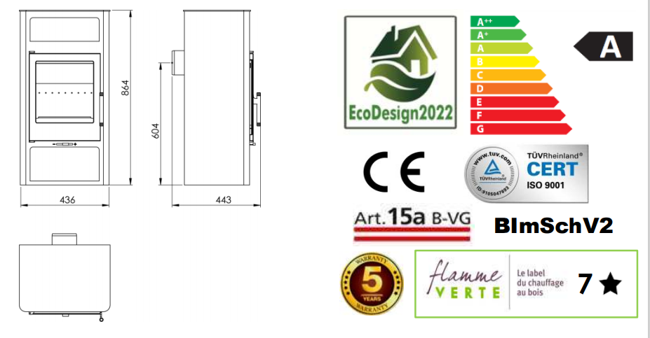 Panadero SWAN Ecodesign