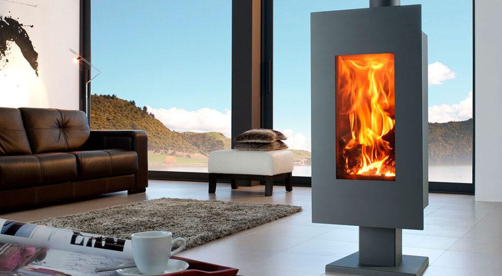 Importancia de la toma de aire exterior en una estufa de leña