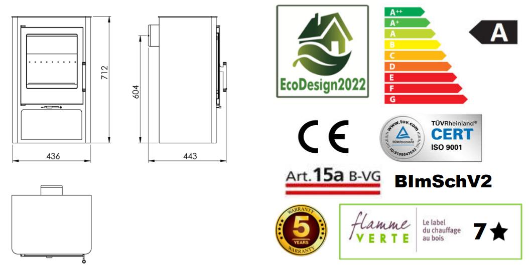 Panadero KNYSNA Ecodesign