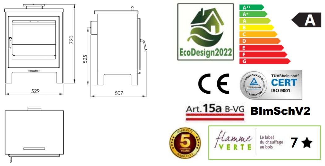 Panadero NEWPORT Ecodesign