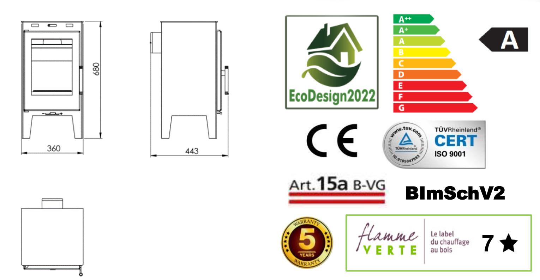 Panadero ALINA Ecodesign